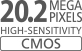 CMOS-датчик 20,2мегапикселя