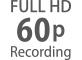 Формат Full HD с частотой кадров 24–60p