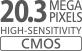 CMOS-датчик 20,3MП