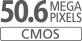 Датчик APS-C CMOS 50,6MП