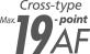 19-точечная система автофокусировки